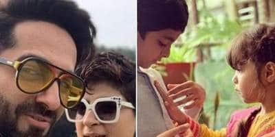 Happy Birthday Ayushmann Khurrana: Have A Look At His Best Photos With Wife Tahira Kashyap, Kids Virajveer And Varushka