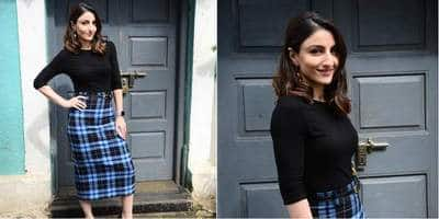 Soha Ali Khan's Semi-Formal Look Is Perfect For Bringing The Modern Royalty In You