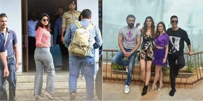 Spotted: Priyanka Chopra Wave To Paps, Akshay Kumar And Housefull 4 Team Have A Blast Promoting The Film
