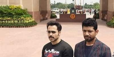 Emraan Hashmi, Sobhita Dhulipala Along With The Cast Of Bard Of Blood Pay Homeage To Soldiers At The Amar Jawan Jyoti