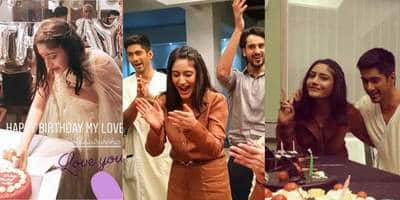 Surbhi Chandna Celebrates Her Birthday With Sanjivani 2 And Ishqbaaz Co-stars! See Pictures And Videos...