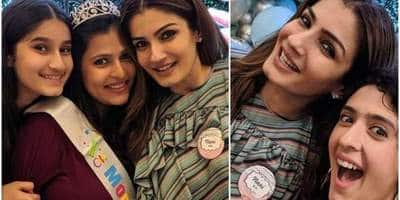 The Soon To Be 'Nani' Raveena Tandon Hosts A Beautiful Baby Shower For Her Adopted Daughter Chhaya