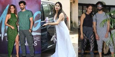 Spotted: Aditya Roy Kapur-Disha Patani Pose Together At Malang Trailer Launch, Shahid-Mira And Janhvi Kapoor Sweat It Out In Style!