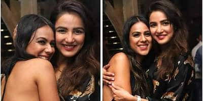 Naagin 4 Co-Stars Nia Sharma And Jasmin Bhasin Party Together, Dance To The Naagin Song! See Pics And Videos...