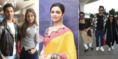 Spotted: Ayushmann Khurrana Snapped With His Parents At The Airport, Deepika Padukone Continues Chhapaak Promotions