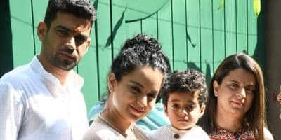 Twitterati Accuses Kangana Ranaut Of Nepotism As Brother Becomes Part Of Production House, Rangoli Chandel Hits Back!