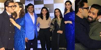 Chhapaak Screening: Ranveer Singh, Deepika Padukone's Families Come Together With Bollywood To Watch Her Debut Production