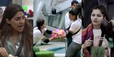 Bigg Boss 14 Day 12: Nikki Refuses To Do House Chores; Housemates Fight To Get Their Belongings From BB Mall