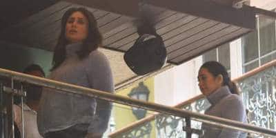 Kareena Kapoor Khan Shoots With Sister Karisma Kapoor; See Pictures And Video...