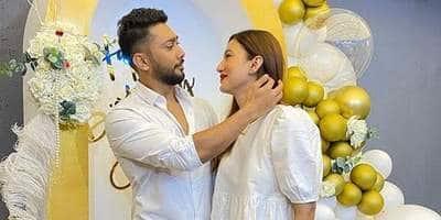Gauahar Khan Wishe Zaid Darbar On His Birthday