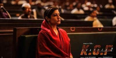 The Makers Of KGF Chapter 2 Unveil Raveena Tandon's First Look As 'Ramika Sen' On Her Birthday