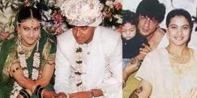 When Ajay Devgn Couldn't Remember His And Kajol's Wedding Date But Shah Rukh Khan Did