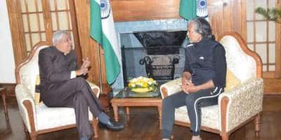 West Bengal Governor Meets Milind Soman At Darjeeling Raj Bhawan; Honors Him For Being An Inspiration For Youth
