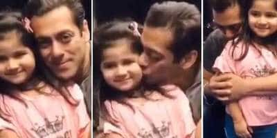 Salman Khan Plants A Kiss On His Young Fan's Cheek, Twitter Can't Get Over Their Cuteness