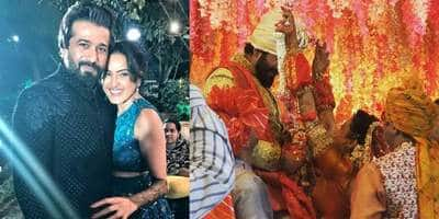 Kamya Punjabi-Shalabh Dang Wedding: See The First Picture From The Much Awaited 'Shaadi'!