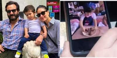 Taimur Ali Khan Bakes A Cake For Kareena Kapoor Khan And Saif Ali Khan And It's The Cutest Thing You'll See Today