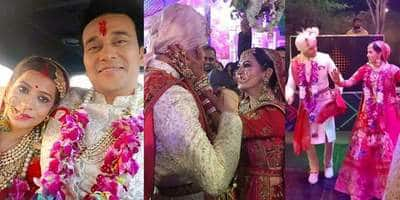 Yeh Hai Mohabatein Actor Anurag Sharma Ties The Knot With Nandini Gupta! See Pictures And Videos...