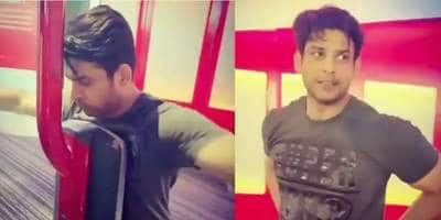 Sidharth Shukla Sweats It Out At The Gym And Is Giving Us #FridayFitness Goals! Watch Video...