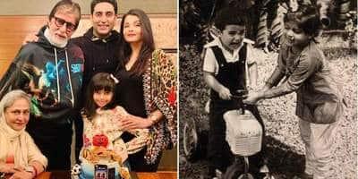 Abhishek Bachchan Birthday Celebration Was All About Family, Actor Cuts A Cake With Amitabh, Jaya, Aishwarya, Aaradhya