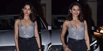 Rakul Preet Singh Shimmers And Shines In A Dazzling Party Outfit; Get The Look