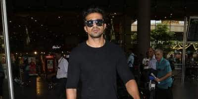 Saqib Saleem Looks Ubercool In An All-Black Outfit At The Airport; Get The Look