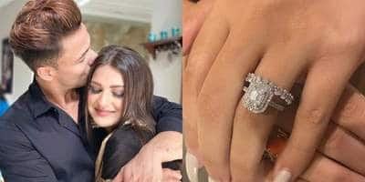 Asim Riaz Proposed To Himanshi Khurana With A Diamond Ring? Take A Look