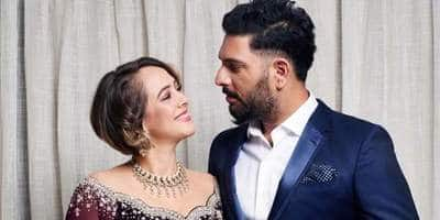Hazel Keech's Husband And Renowned Cricketer Yuvraj Singh Gets Trolled For Donating To Shahid Afridi's Charity, Fans Trend IStandWithYuvi