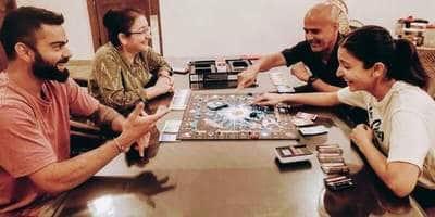 Anushka Sharma Plays A Board Game With Husband Virat Kohli And Her Parents Amid Coronavirus Lockdown
