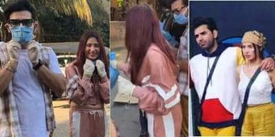 Paras Chhabra And Mahira Sharma Come Together To Donate Food Packages And Basic Essentials To The Needy; Watch