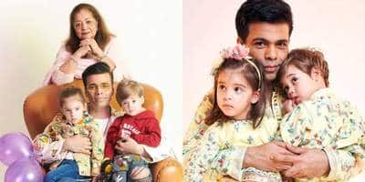 Karan Johar To Reassess His Fashion Choices After Yash And Roohi Call His Clothes 'Too Shiny'; Watch