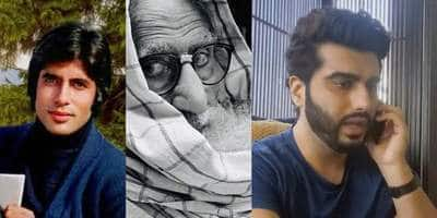 Amitabh Bachchan Compares His Look In Kabhie Kabhie To Gulabo Sitabo; Arjun Shares A Hilarious Lockdown Video