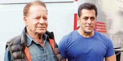 Salman Khan Had Once Set Fire To His Father's Entire Salary