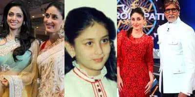 When Kareena Kapoor Said She Wanted Sridevi To Be Her Mom And Amitabh Bachchan To Be Her Dad In A Childhood Interview