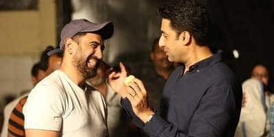 Breathe: Into The Shadows- Abhishek, Amit And Their Team Indulge In A Game Of Cricket In Between Shots; Watch