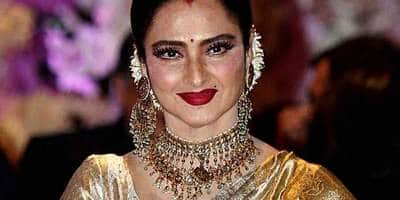 Rekha's Bungalow Sealed By BMC After Her Security Guard Tests Positive For COVID-19: Reports