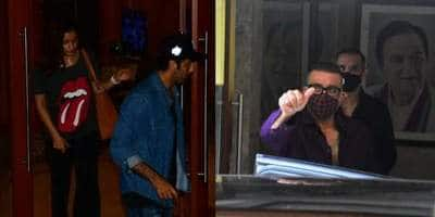 Ranbir Kapoor And Alia Bhatt Visit Sanjay Dutt After His Cancer Diagnosis, Spotted Leaving His House Late At Night