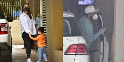 Spotted: Vicky Kaushal Spotted Outside Katrina Kaif's House, Kareena And Taimur Would Light Up Your Day