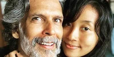 Milind Soman's Wife Ankita Slams Trolls Who Questioned The Age-Gap In Their Relationship