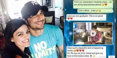 Sushant Singh Rajput's Sister Shweta Shares WhatsApp Conversation A Month Before His Death, Says 'You Loved Us So Dearly'