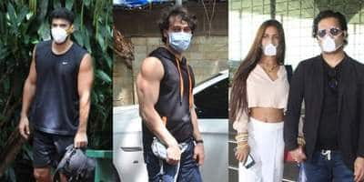 Spotted: Aditya Roy Kapur, Tiger Shroff Snapped In The City; Poonam Pandey Leaves For Her Honeymoon