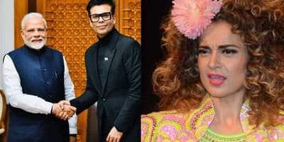 PM Modi Tells Karan Johar His Passion For Cinema Is 'Adorable', Tweeps Have A Gala Time Gauging Kangana Ranaut's Reaction
