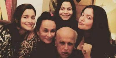 Alia, Shaheen, Pooja And Soni Razdan Shower Mahesh Bhatt With Love On His Birthday; Share Beautiful Memories