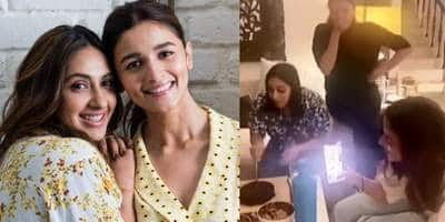 Alia Bhatt's BFF Akansha Ranjan Kapoor Celebrates Birthday With The Actress And Other Close Friends, See Videos...
