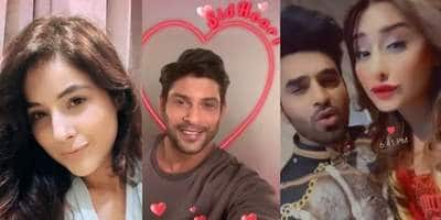 Shehnaaz Gill Tries Out Sidharth Shukla's Filter; Paras Dances With Mahira On Her Latest Track