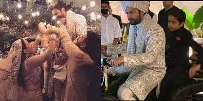 Fresh Pictures From Varun Dhawan, Natasha Dalal's Wedding Emerge; Actor Rode A Quad Bike And Ditching A Baraat