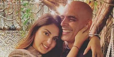 Rhea Chakraborty Spends Time With Tees Maar Khan Actor Rajiv Lakshman, Latter Posts Pictures