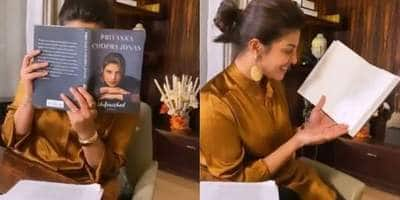 A 'Terrified And Excited' Priyanka Chopra Shares Her Reaction On Receiving The First Copy Of Her Memoir 'Unfinished'; Watch