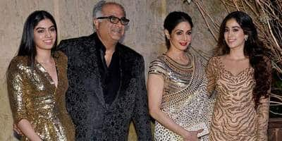 Sridevi's Younger Daughter Khushi To Make Acting Debut Soon; Father Boney Reveals Why He Won't Launch Her