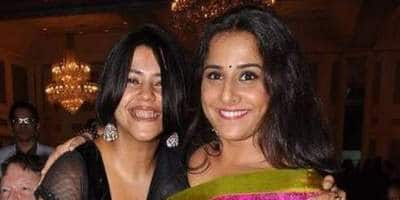 Vidya Balan Re-Unites With Ekta Kapoor For The Web-Series Hello Jee But It Isn't For An On-Screen Appearance