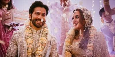 Varun Dhawan Is A Married Man Now, Shares First Pictures With Wife Natasha Dalal From Their Alibaug Wedding